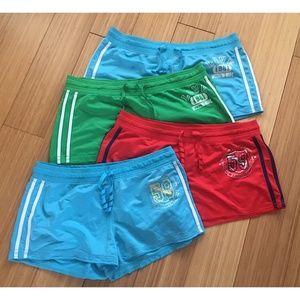 4 Pair Ladies No Boundaries Short Shorts